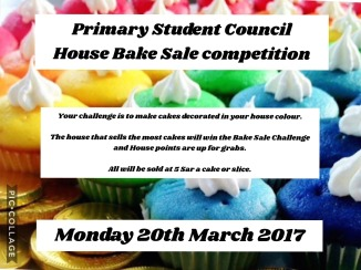 House Bake Sale