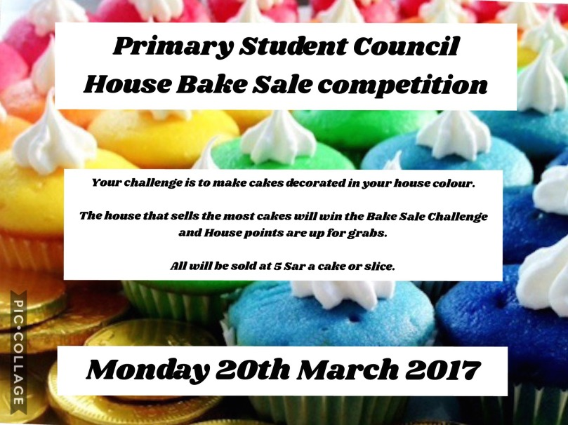 House Bake Sale